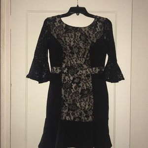 NY collection petite laced dress